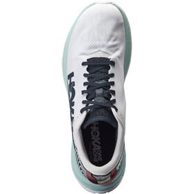 Hoka One One Carbon X Zapatillas Running Hombre, blanco/azul